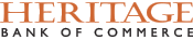 Heritage Commerce logo